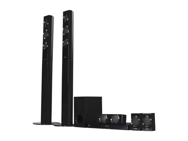 Panasonic 5.1 Home Theater System with 3D Blu-ray Player, SC-BTT196