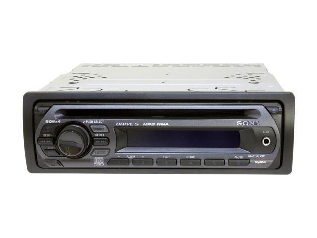 SONY CD Receiver/MP3/WMA Player Model CDX-GT210