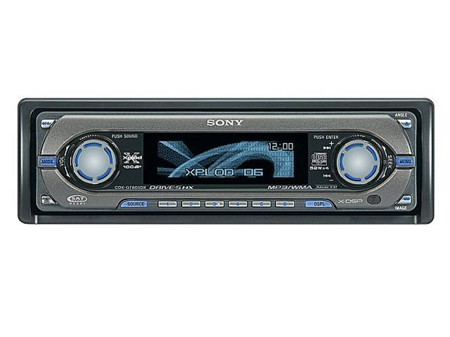 SONY CD player with MP3/WMA playback Model CDXGT805DX