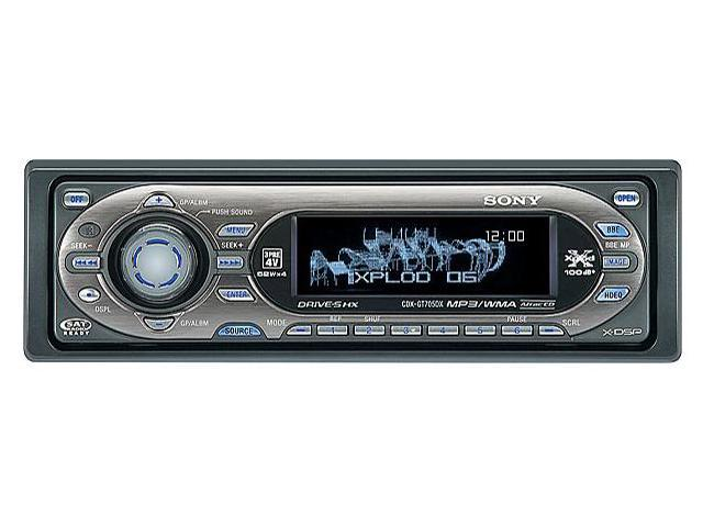 SONY CD player with MP3/WMA playback Model CDXGT705DX