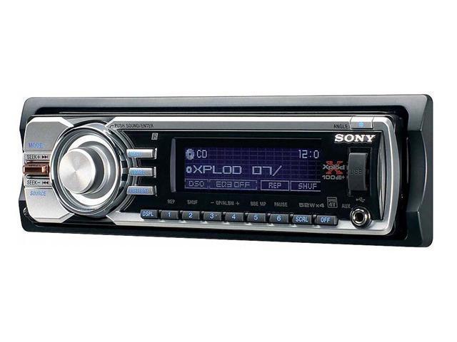 SONY CD Receiver/MP3/WMA/AAC Player/UniLink Control Model CDX-GT81UW