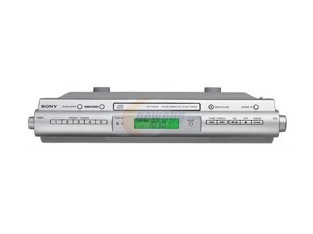 SONY CD/Radio 1-Disc Changer Mini Audio System ICF-CDK50