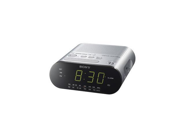 SONY Dream Machine AM/FM Clock Radio ICFC218BLACK