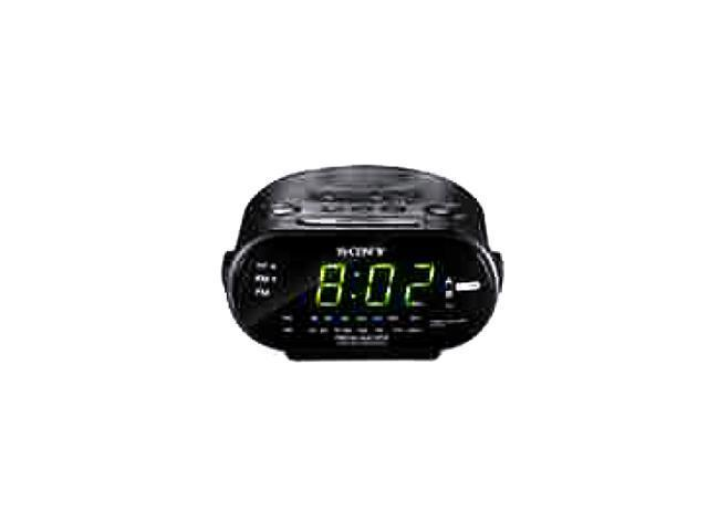 SONY Automatic Time Set Clock Radio with Dual Alarm ICF-C318BLACK
