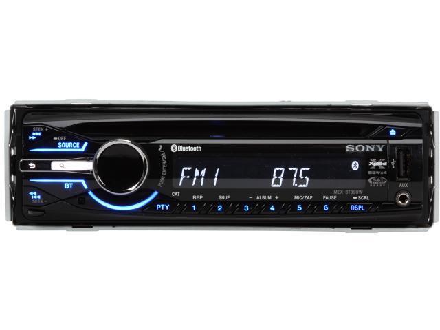 Sony AM/FM/CD In-Dash Car Receiver With Bluetooth - MEX-BT39UW
