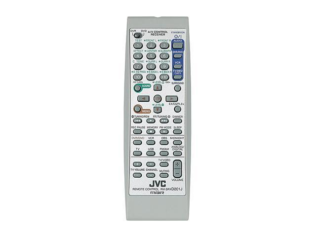 JVC RX-D205S 7-Channel Audio/Video Control Receiver