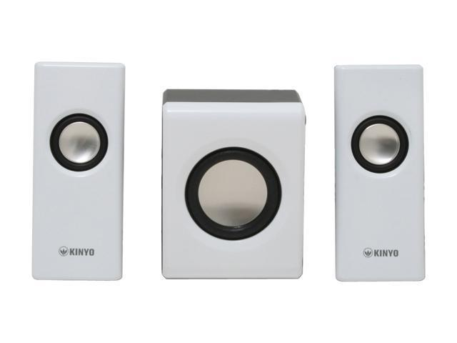 KINYO SW-102 2 Watts 2.1 Audio Zone Sound System