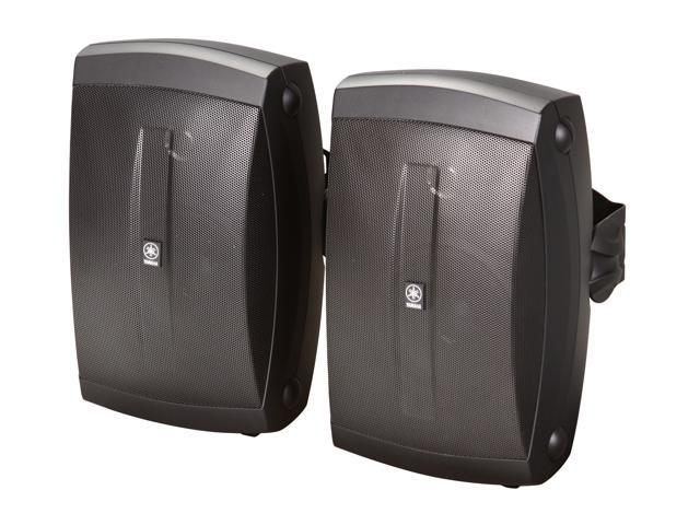 YAMAHA NSAW150B 2 CH Black All Weather Wide Frequency Response Outdoor Speakers Pair