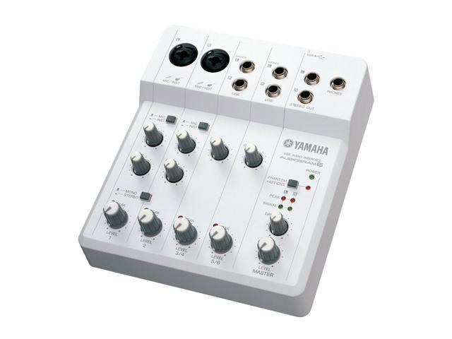 Yamaha AUDIOGRAM6 USB Audio Interface Computer Recording System