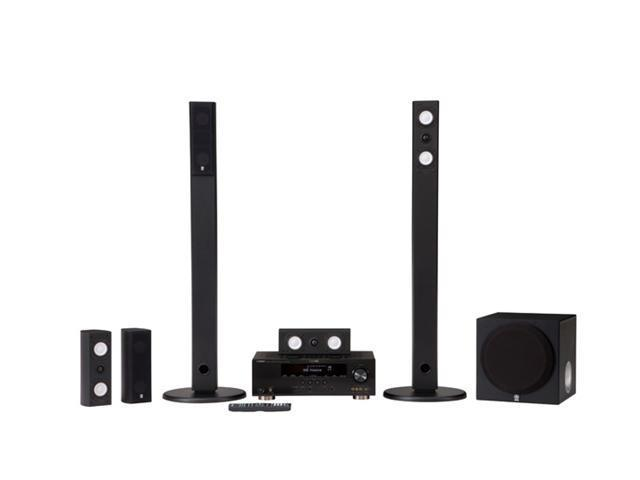 YAMAHA YHT-491BL 5.1-Channel Home Theater System