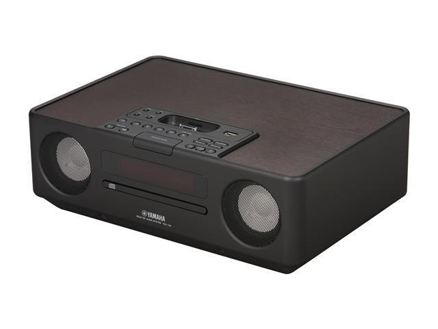 Yamaha - Desktop Audio System w/ FM Tuner, iPod dock and CD Player - TSX130 (BLACK)