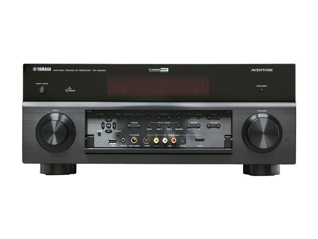 YAMAHA RX-A3000 7.2-Channel AVENTAGE Network A/V Receiver App for iPhone or iPod Touch