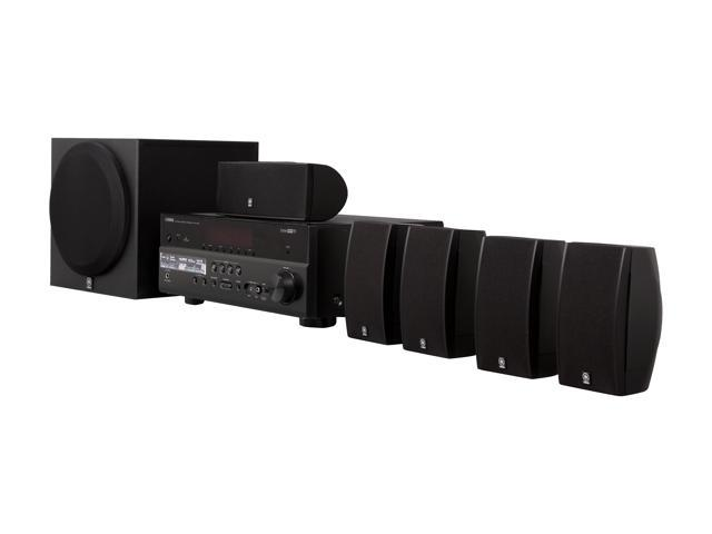 YAMAHA YHT-597BL 5.1-Channel Home Theater System