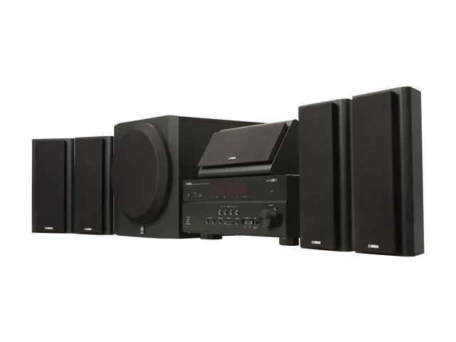 Yamaha yht 797bl 5 1 channel home theater system for Yamaha htib review