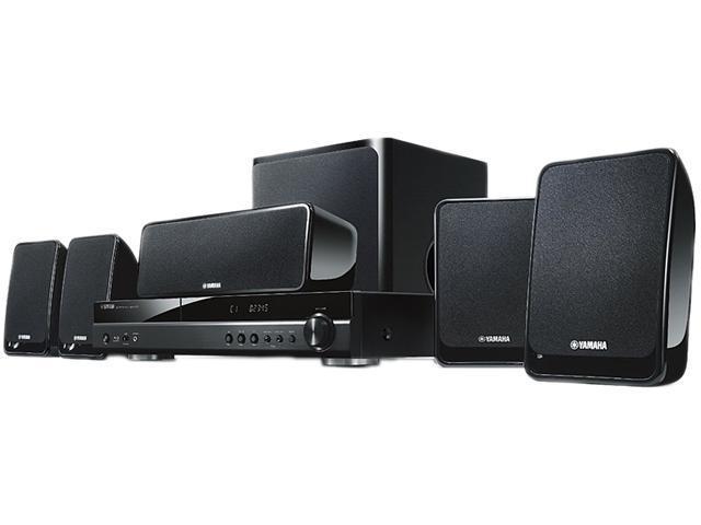 YAMAHA BDX610BL 500 Watt 5.1 Channel Blu-ray Home Theater System