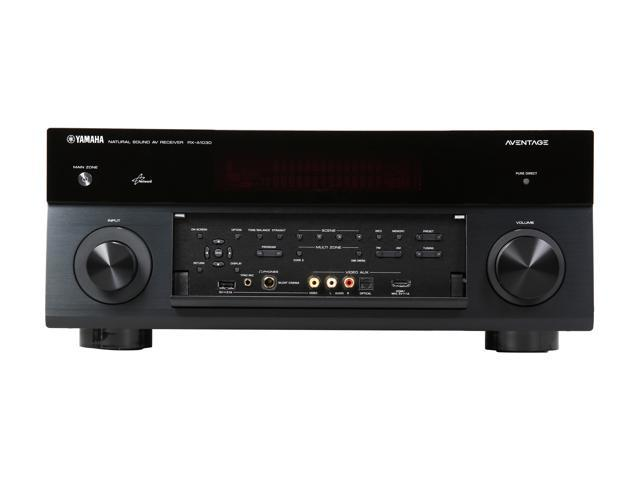 Yamaha RX-A830 7.2 Channel Aventage Network AV Receiver with Airplay (Black)