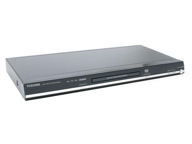 TOSHIBA SD5000 1080i Upconverting Prograssive DivX DVD Player