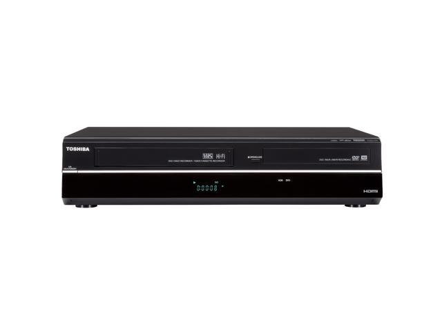 toshiba dvr670 dvd recorder vcr combo with built in. Black Bedroom Furniture Sets. Home Design Ideas