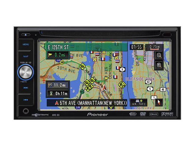 "Pioneer AVIC-D3 6.1"" In-Dash Double Navigation system and Entertainment player"
