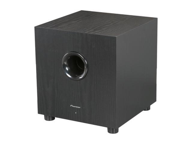 Pioneer SW-8-K 100W Powered Subwoofer Single