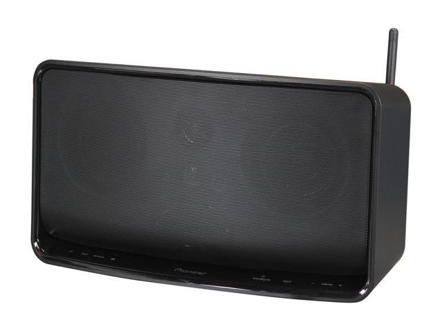 Pioneer XW-SMA3-K Portable Wi-Fi Speaker featuring AirPlay, DLNATM, Wireless Direct, Rechargeable Lithium Ion Battery