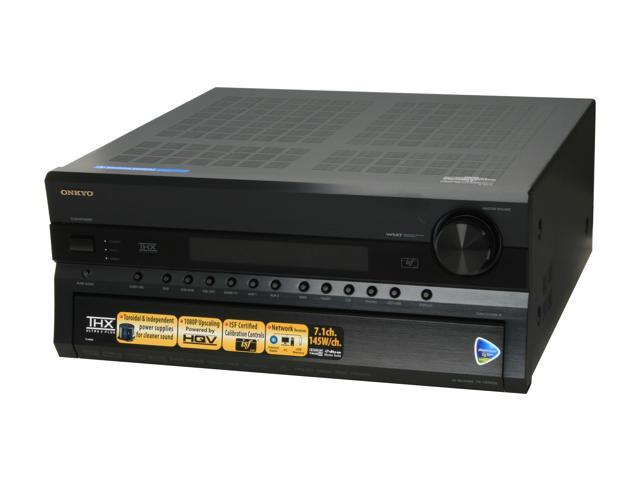 ONKYO TXNR906 7.1-Channel Black Home Network Receiver