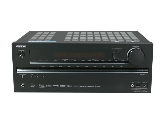 ONKYO HT-RC360 7.2-Channel Home Theater Receiver