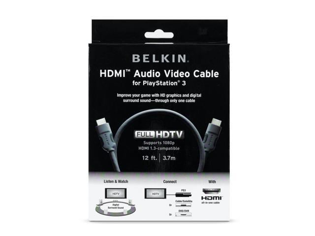 Belkin AM22302-12-SN 12 ft HDMI Audio Video Cable