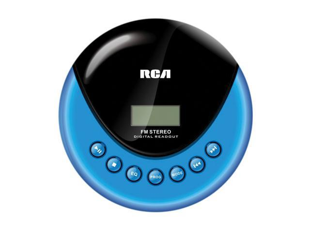 rca personal cd player with fm radio rp3013. Black Bedroom Furniture Sets. Home Design Ideas