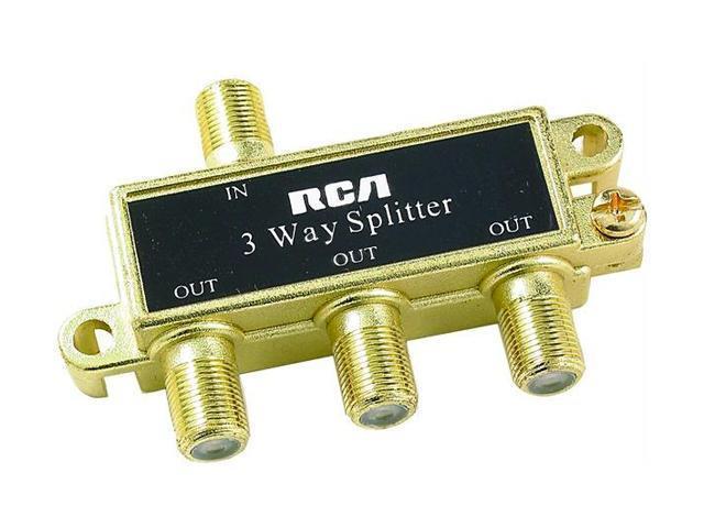 RCA VH48N Signal Splitter (3 Way)