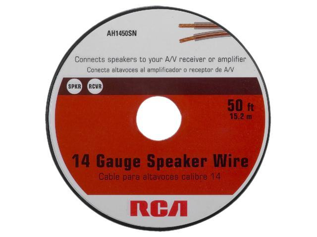 RCA Model AH1450SN 50 ft. 14 Gauge Speaker Wire