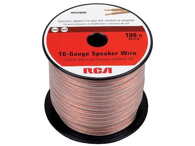 RCA Model AH16100SR 100 ft 16-Gauge Speaker Wire