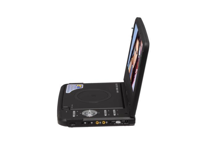 "Mustek MP95A 9"" Portable DVD Player"