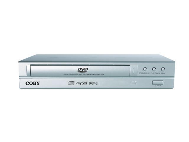 COBY DVD-224 Progressive Scan DVD Player (Silver)