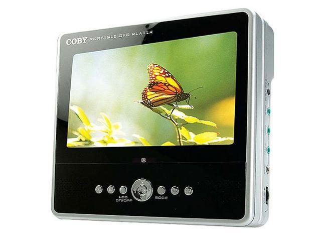 """COBY TF-DVD7050 7"""" TFT Portable Tablet Style DVD Player"""