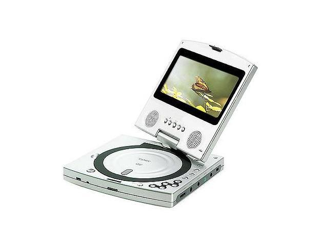 COBY TFDVD6200 Portable DVD Player With Swivel Screen