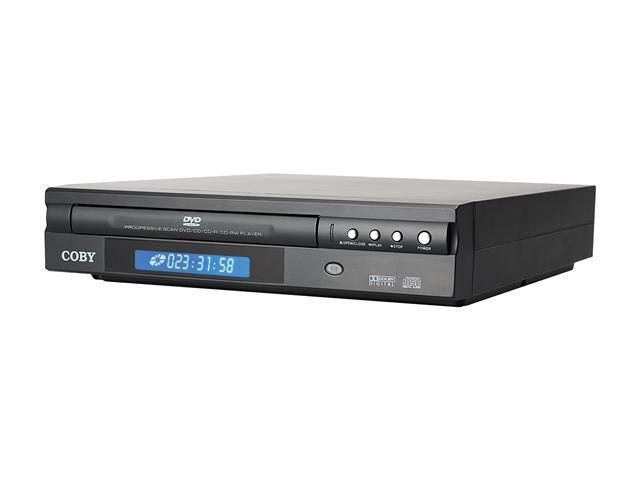 COBY DVD514BLK Compact 5.1-Channel DVD Player