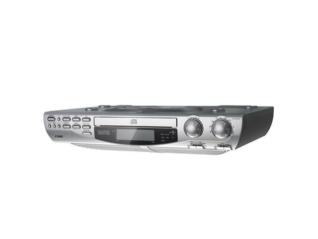 COBY Under-the-Cabinet CD Player with AM/FM Radio KCD150