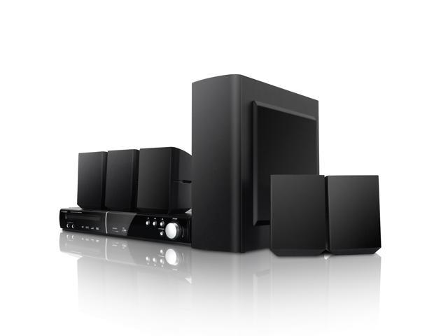 COBY DVD938 5.1 Channel DVD Home Theater System with Digital AM/FM Tuner