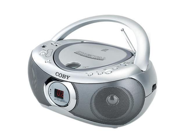 COBY Portable CD Player with AM/FM Radio                                                                 CXCD236