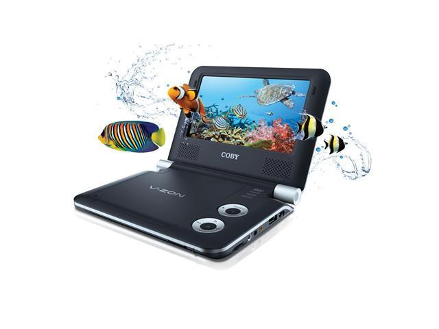 "COBY TF3DVD7019 7"" Portable 3D DVD Player"