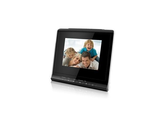 "COBY DP356BLK 3.5"" 320 x 240 Digital Photo Frame"