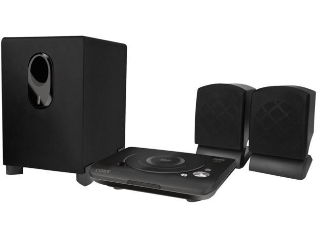 COBY DVD420 2.1-Channel DVD Home Theater System