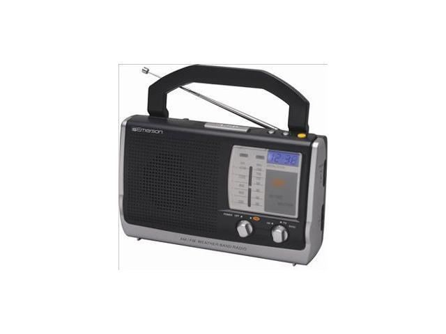 EMERSON RP6251 Portable Clock Radio