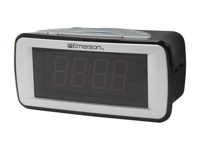 EMERSON Dual-Alarm AM/FM Clock Radio CKS9031