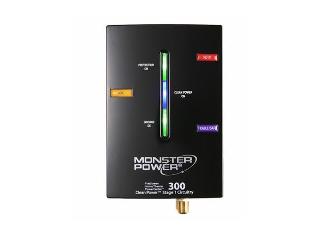 Monster - FlatScreen PowerCenter w/ Clean Power Stage 1 (HTS 300)