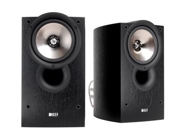 KEF Classic Q Series iQ10 Bookshelf Speakers (Black Ash) Pair