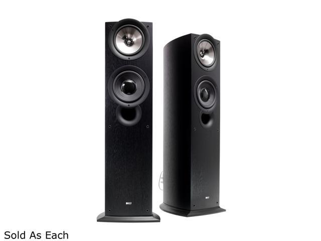 KEF Classic Q Series iQ70 Floorstanding Speaker (Black Ash) Single