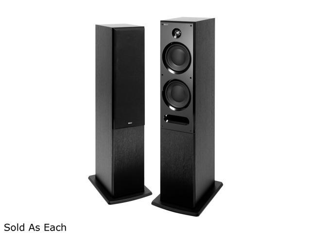 KEF C7 Floorstanding Speakers (Black Ash) Single