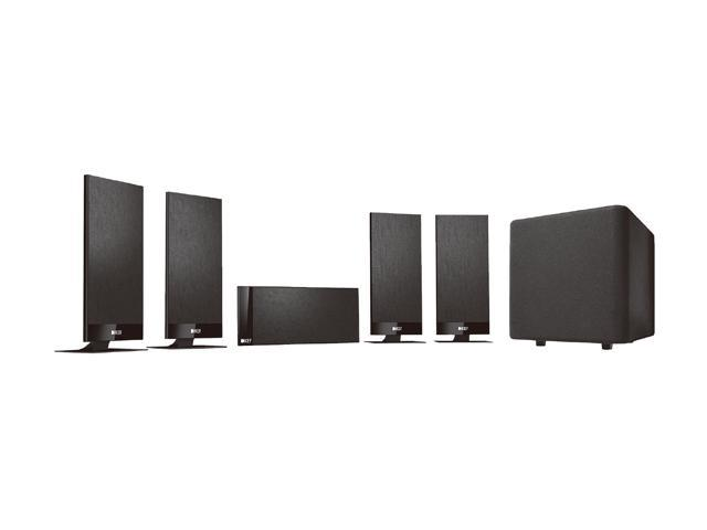 KEF T100 5.1-Channel Home Audio Speaker System